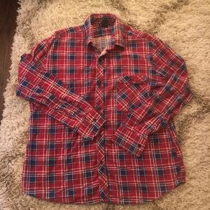 Vintage Mohair Plaid Fuzzy Check Palermo Flannel
